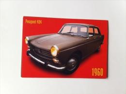Carte Postale  PEUGEOT 404 1960 - Ohne Zuordnung