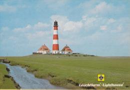 Vuurtoren/Leuchtturm/Lighthouse - Westerheversand(Duitsland ) – Ongebruikt - Vuurtorens