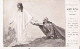 S SOLOMKO 1752 GUERRE EUROPEENNE DE 1914  LA LETTRE DU PAPE BENOIT XV A GUILLAUME (ILLUSTRATION) - Russia