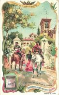 6 Cartes Chromo Liebig Langue Espagnole ( Spanish ) Ed. Nr 0840 Escenas De La Vida Espagnole - Serie Complete (set Compl - Liebig