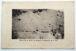 Anche Fra La Neve E La Tormenta L´Artiglieria Va In Alto - Manovre