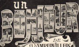 UN BONJOUR DE RAMBERVILLERS - Rambervillers