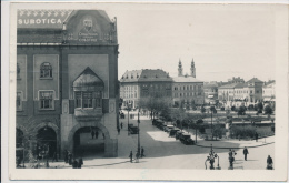 SERBIA, VOJVODINA, SUBOTICA, SZABADKA, DETALJ GRADSKE KUCE, EX Cond. REAL PHOTO PC, Used 1939 - Serbia