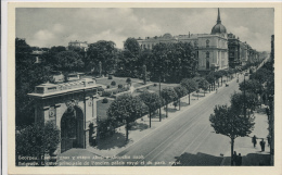 SERBIA, BEOGRAD, GLAVNI ULAZ U STARI DVOR I DVORSKI PARK, EX Cond.   PC, Used 1939 - Serbia