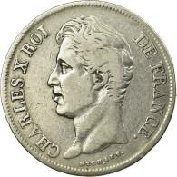 Monnaie, France, Charles X, 5 Francs, 1829, Limoges, TB+, Argent, KM:728.6 - France