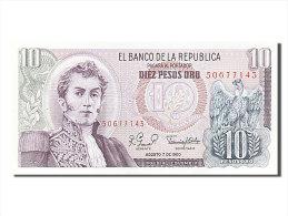 [#254013] Colombie, 10 Pesos Oro, Type Narino - Colombie