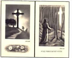 Doodsprentje Alois-Jozef ROSSEEL Echtg. Maria Magdalena DEPUYDT Oekene 1893 Roeselare 1958 - Devotion Images