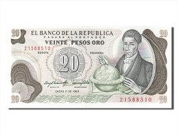 [#253986] Colombie, 20 Pesos Oro, Type Caldas - Colombie