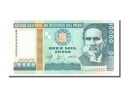 Pérou, 10 000 Intis Type Vallejo - Pérou
