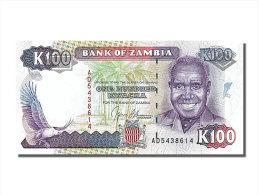 [#253897] Zambie, 100 Kwacha, Type K. Kaunda - Zambie