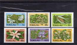 TOKELAU ISLANDS 1987 FLORA FLOWERS PLANTS FLOWER PLANT FIORI PIANTE FIORE PIANTA  MNH - Tokelau