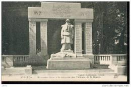 AVALLON MONUMENT ELEVE A LA MEMOIRE DES VICTIMES DE LA GUERRE SCULPTURE PIERRE VIGOUREUX REF 6467 - Avallon