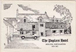 MOULTON - THE POPLARS HOTEL BROCHURE - Northamptonshire