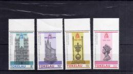 TOKELAU ISLANDS 1978 SILVER CORONATION ANNIVERSARY 25TH XXV 25 ANNIVERSARIO DELLA CORONA MNH - Tokelau