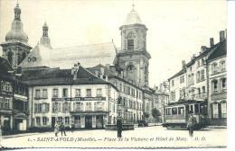 St Avold - Pl Victoire - Tramway. - Saint-Avold