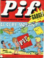 Pif Gadget N°233 (Vaillant 1471) - Fanfan La Tulipe -  Docteur Justice - Pif Gadget