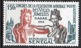 N° 41 - PA - Neuf* - Congrès Des Villes Jumelees  - SENEGAL - Sénégal (1960-...)