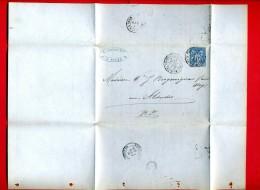 FACTURE 1880 MAISON LAHILLE 27 RUE DU CONTRAT SOCIAL A ROUEN POUR MAISON BERGOUIGNAN A ALDUDES PYRENEES ATLANTIQUE - France