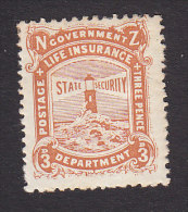 New Zealand, Scott #OY20, Mint Hinged, Lighthouse, Issued 1913 - Unclassified