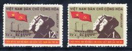 NORTH VIETNAM 1960 3rd Communist Party Congress Set Of 3  MNH / (*).  Sc. 137-38 - Vietnam