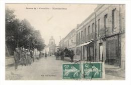 HAUTE-GARONNE  /  MONTASTRUC  /  AVENUE  DE  LA  CONSEILLÈRE  ( Calèche, Pharmacie ) /  Edit.  Jean JEAN-MARIE - Montastruc-la-Conseillère