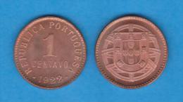 PORTUGAL  1 CENTAVO 1.922 Cobre  KM#565  T-DL-10.635  Copy - Portogallo