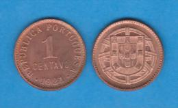 PORTUGAL  1  CENTAVO  1.921  BRONCE   KM#565   DL-10.639  Copy - Portugal