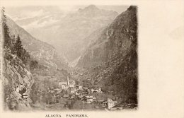 [DC6948] ALAGNA (VERCELLI) - PANORAMA - Old Postcard - Vercelli