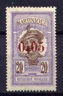MARTINIQUE - N° 106* - MARTINIQUAISE - Ungebraucht