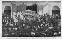 [DC6952] VARALLO (VERCELLI) - INCORONAZIONE DELLA MADONNA AL SACRO MONTE DI VARALLO (6 SETTEMBRE 1913) - Old Postcard - Vercelli