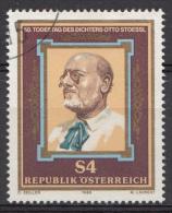 AUTRICHE Mi.nr:1860 Todestag Von Otto Stoessl 1986 OBLITÉRÉS / USED / GESTEMPELD - 1945-.... 2nd Republic