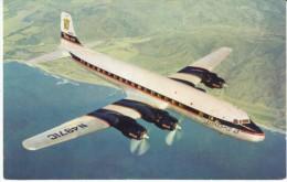 Delta-C&S Airlines, DC-7 Airplane C1950s Vintage Postcard - 1946-....: Moderne