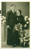 Originele Fotopostkaart - Huwelijk - Uitgever Erembodegem - Noces