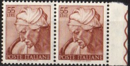 PIA - ITALIA VARIETA' : 1961 : Michelangiolesca - (SAS 908/I - CARRARO 505) - 6. 1946-.. Repubblica