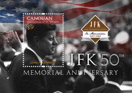 ST VINCENT CANOUAN 2013 - 50e Ann De La Mort De J.F.Kennedy  -  BF Neuf // Mnh - St.Vincent & Grenadines