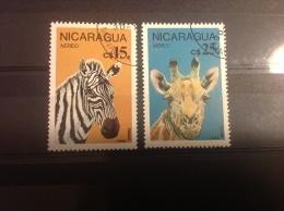 Nicaragua - Serie Beschermde Dieren 1986 - Nicaragua