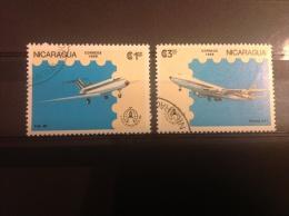 Nicaragua - Serie Vliegtuigen Stockholm 1986 - Nicaragua