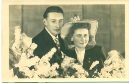 Originele Fotopostkaart - Huwelijk - Noces