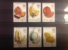 Nicaragua - Serie Tropische Vruchten 1986 - Nicaragua