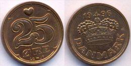 Denmark 25 Ore 1996 XF+ - Danemark