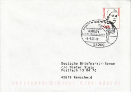 KARATE, Germany, 2003, Special Cancellation !! - Unclassified
