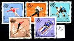- MONGOLIA - Olimpiadi GRENOBLE  -year 1968 - Timbrati- Stamped - Affranchiè -gestempelt. - Inverno1968: Grenoble
