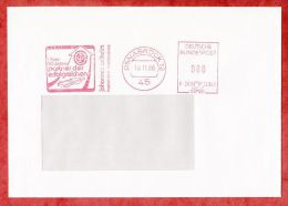 Brief, Francotyp-Postalia F20-2341, Johannes Wilhelm, 80 Pfg, Osnabrueck 1986 (44995) - Covers & Documents