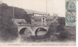 Chateaurenault, Moulin De La Tannerie Placide Peltereau, Sur Le Gault - Andere Gemeenten