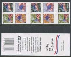 USA 2013 Scott 4782-4785, Flag For All Seasons, Booklet Pane Of 10 (Sennett Printer), MNH (**) - Booklets