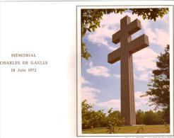 52. Mémorial Du Général De Gaulle 18 Juin 1972. Colombey Les Deux Eglises. - Colombey Les Deux Eglises