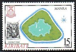 """Kiribati ; 1986 ; N° Y : 154 ; N** ; """" Manra """" ;cote Y : 2.00 E. - Kiribati (1979-...)"""