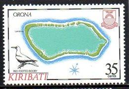"""Kiribati ; 1986 ; N° Y : 156 ; N** ; """" Orona """" ;cote Y : 4.00 E. - Kiribati (1979-...)"""