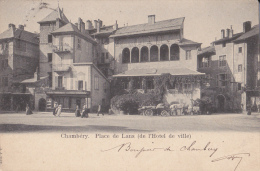 CHAMBERY Place De Lans (de L'hotel De Ville) - Chambery