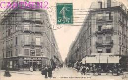 PARIS CARREFOUR DE LA RUE DURET ANIMEE BOULANGERIE 75016 - Arrondissement: 16